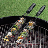 Patio & Grill - Kabob Baskets Set of 2