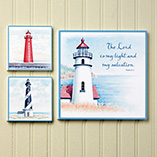 Home Décor - Lighthouse Wall Grouping Set of 3