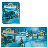 View All - Nostalgic Village Christmas Card Set of 20