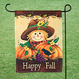 Thanksgiving - Happy Fall Garden Flag