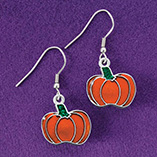 View All Jewelry & Keychains - Pumpkin Earrings