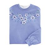 Everyday Sweatshirts - Pretty Flowers Sweatshirt