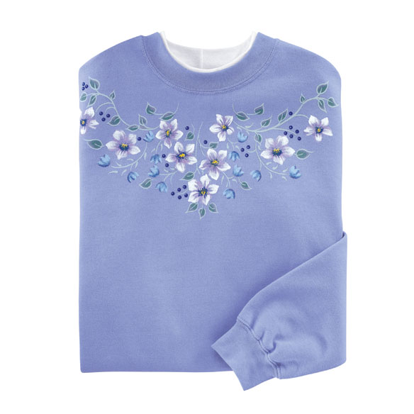 Pretty Flowers Sweatshirt