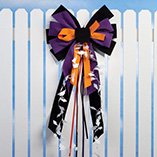 View All Flags, Spinners & Outdoor Decor - Halloween Velvet Bow