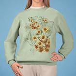 Everyday Sweatshirts - Sunflowers Sweatshirt
