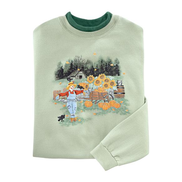 Scarecrow Harvest Sweatshirt