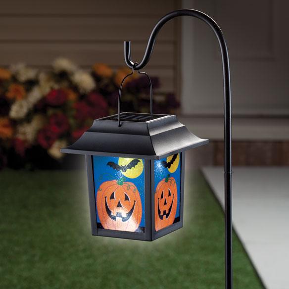 Halloween Pumpkin Solar Lantern Stake