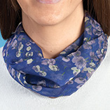 Dickies & Fashion Accessories - Pansy Floral Neck Cowls Set of 3