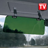 Auto - Visor Extender with Clips