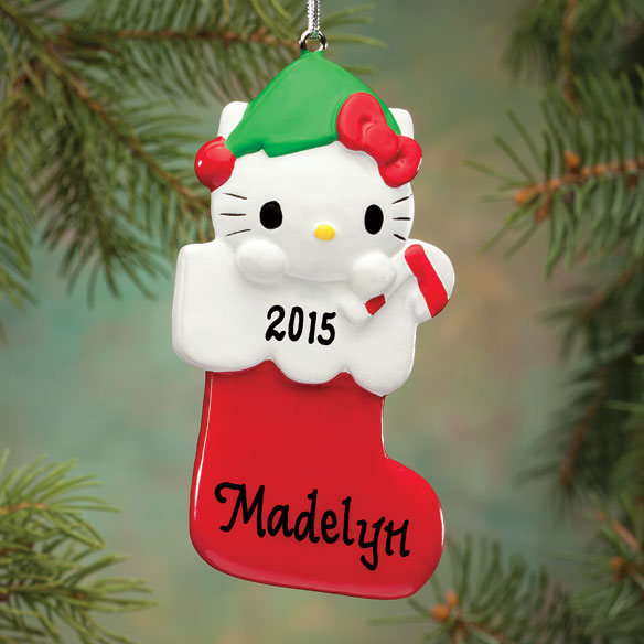 Personalized Hello Kitty® Ornament