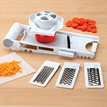 Food Prep - 5-In-1 Mandolin Slicer & Grater