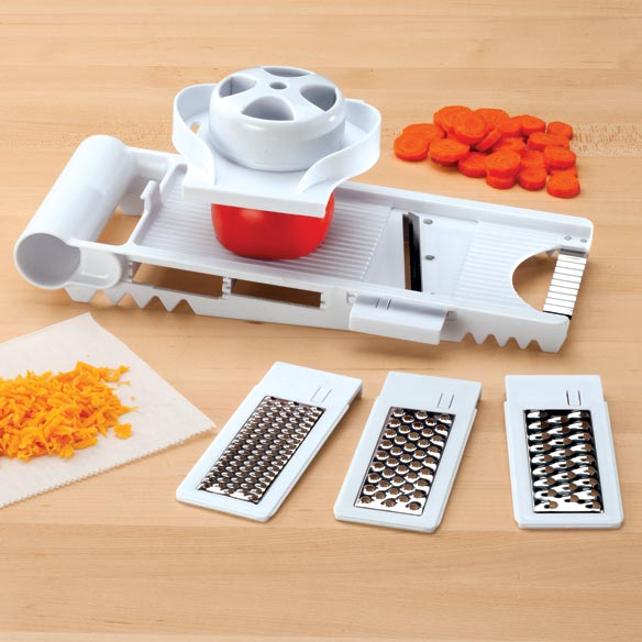 5-In-1 Mandolin Slicer & Grater