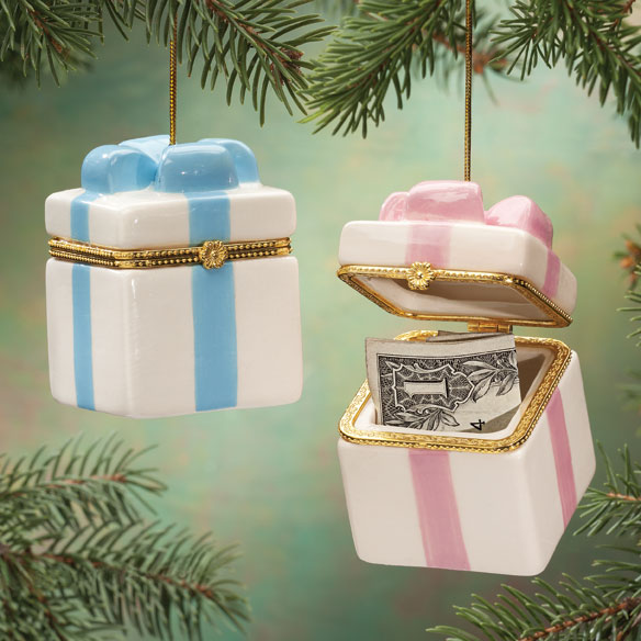 Personalized Trinket Box Ornament