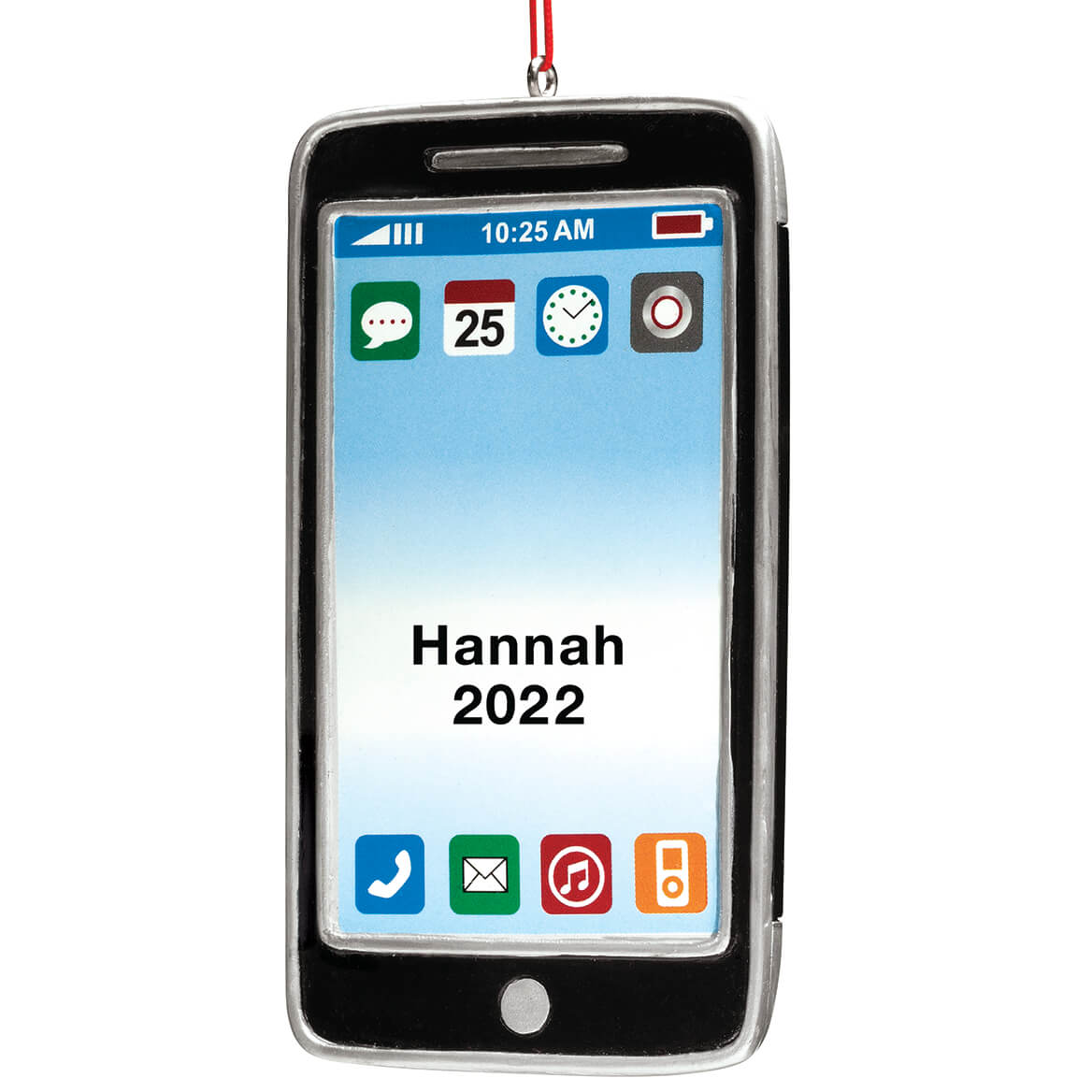 Personalized Cell Phone Ornament-346204