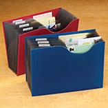 Desk & Computer Accessories - Expanding File Folders, Set of 2