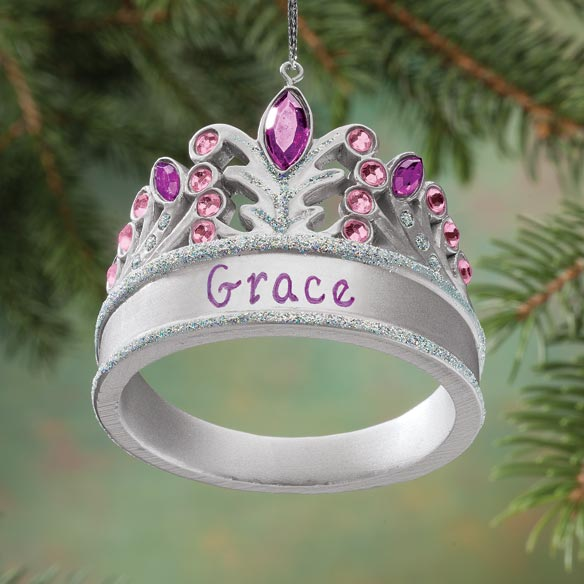Personalized Princess Tiara Ornament