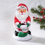 Home Décor - Musical Flashing Santa