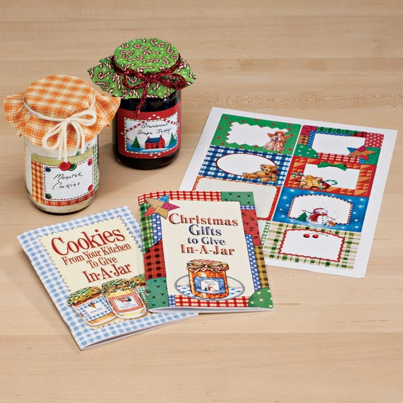 Gifts In A Jar Cookbooks - Set Of 2