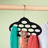 Storage & Organization - Flocked Scarf Hanger