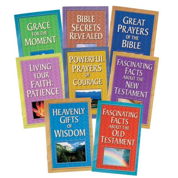 Bible Books, Set of 8