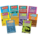 Games & Puzzles - Brain Games, Set of 10