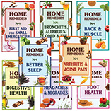 View All Books & Reading - Home Remedy Books, Set of 8