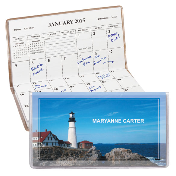 Personalized Lighthouse 2 Year Planner
