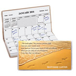 Home Office - Personalized Footprints 2 Year Planner