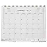 Table Calendars - 5 Year Calendar Diary 2014-2018
