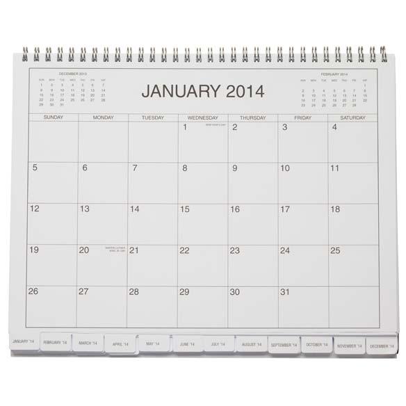 5 Year Calendar Diary 2014-2018