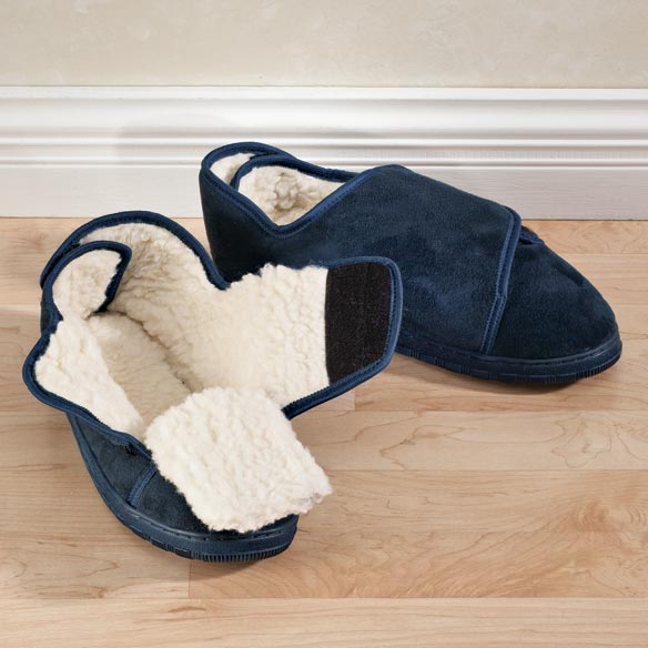 Adjustable Fleece Slippers