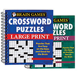 Games & Puzzles - Large Print Crossword