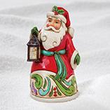 Christmas & Holidays - Jim Shore Mini Santa Figurine