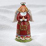 Christmas & Holidays - Jim Shore Mini Angel Figurine