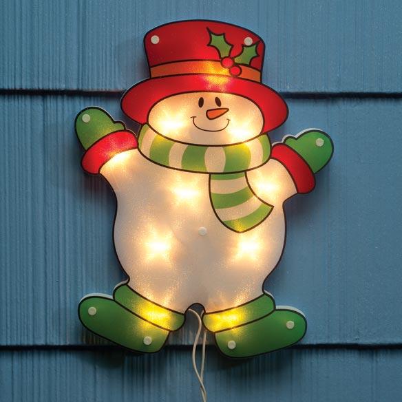 Shimmer Snowman Light