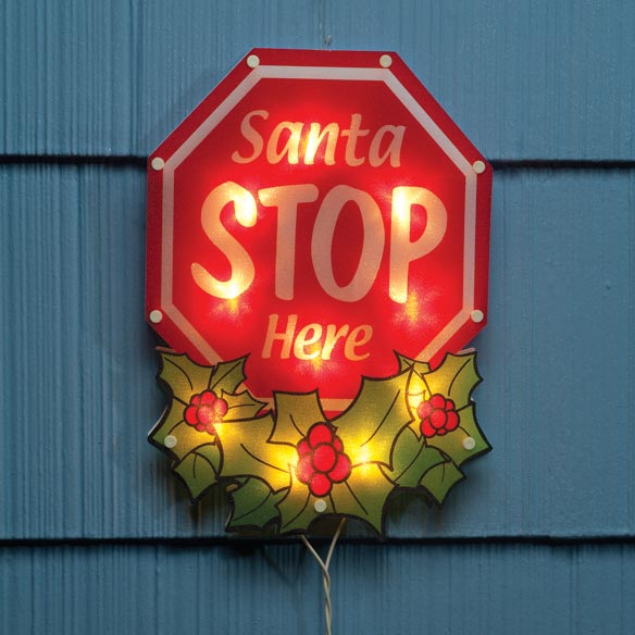 Shimmer Stop Sign Light
