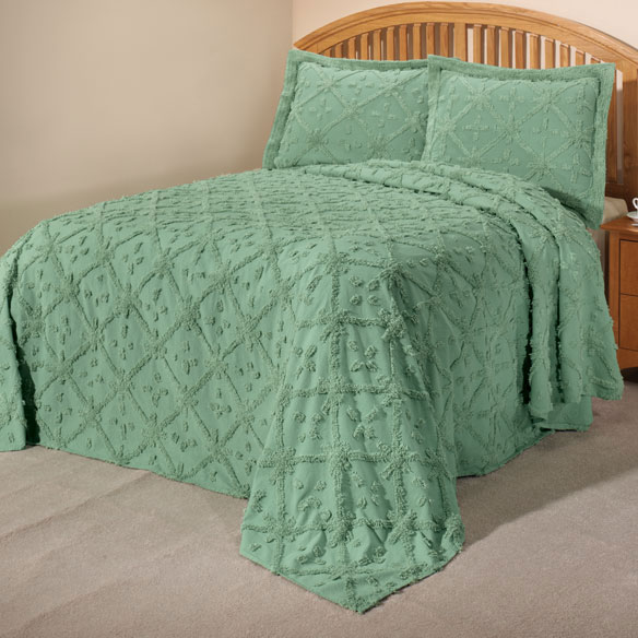 The Anna Chenille Bedding - View 1