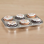 Cookware & Bakeware - 6 Cup Muffin Pan
