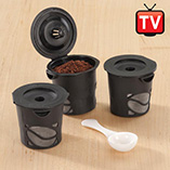 Food Prep - Single-Serve Reusable Coffee Filters - Set Of 3
