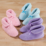 Foot Care - Chenille Slippers