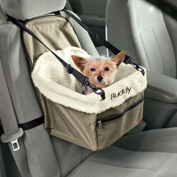 Personalized Pet Car Booster Seat