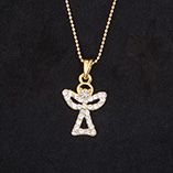View All Jewelry & Keychains - Angel Necklace