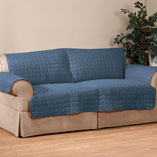 Cushions, Curtains & Throws - Microfiber Loveseat Protector by OakRidge Comforts™