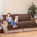 Cushions, Curtains & Throws - Microfiber Sofa Protector by OakRidge Comforts™
