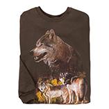 Everyday Sweatshirts - Wolf Pack Sweatshirt