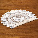 View All Clocks & Decorative Accents - Round Lace Doily