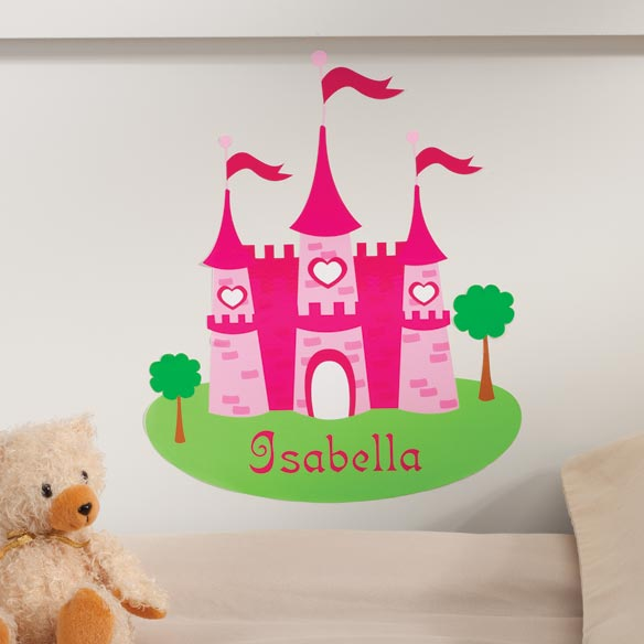 Personalized Princess Décor Cling