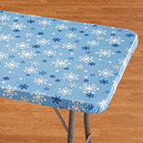 Christmas & Holidays - Snowflake Banquet Table Cover