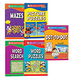 Entertainment -  Brain Games™ For Kids-Set of 5