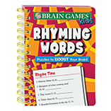Entertainment - Mini Brain Games™ For Kids Rhyming Words